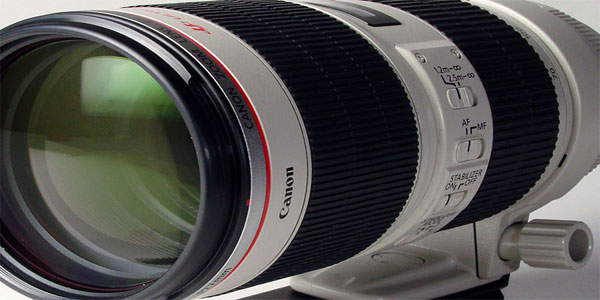 Canon 70-200mm f2.8L IS II USM Lens